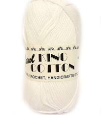 King Cotton DK - White